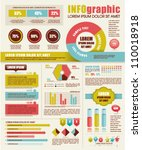 set of infographic elements | Shutterstock .eps vector #110018918