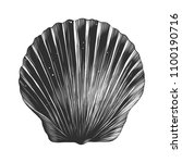 engraved style illustration for ... | Shutterstock . vector #1100190716