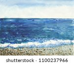 Ocean Landscape  Sea Side ...