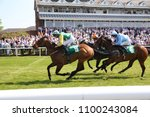 Small photo of Racehorse Tanasoq (IRE) ridden by Phillip Makin wins the 5f sprint Handicap at Thirsk Races : Thirsk Racecourse, Thirsk, North Yorkshire, UK : 19 May 2018 : Pic Mick Atkins