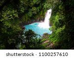 Rio Celeste Waterfall In Costa...