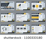 professional business... | Shutterstock .eps vector #1100333180