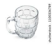 Cocktail Glass. Empty Beer Mug...
