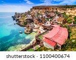 Malta  Il Mellieha. View Of Th...