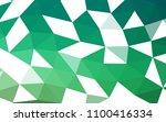 light green vector blurry... | Shutterstock .eps vector #1100416334
