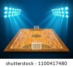 an illustration of hardwood... | Shutterstock .eps vector #1100417480