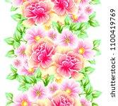 abstract elegance seamless... | Shutterstock . vector #1100419769