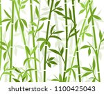 bamboo background japanese...   Shutterstock .eps vector #1100425043