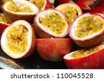 Half Cut Passion Fruit