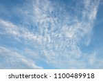 blue sky and clouds | Shutterstock . vector #1100489918