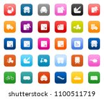 transport icons set  vector... | Shutterstock .eps vector #1100511719