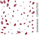 abstract flower petals confetti ... | Shutterstock .eps vector #1100517923