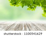 summer table background and... | Shutterstock . vector #1100541629
