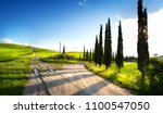 italy countryside landscape... | Shutterstock . vector #1100547050