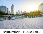 empty  modern square and... | Shutterstock . vector #1100551583