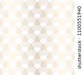 gold geometric pattern vector.... | Shutterstock .eps vector #1100551940
