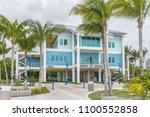 coconut grove fl usa on 22nd... | Shutterstock . vector #1100552858