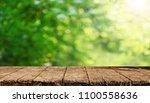 empty table background   Shutterstock . vector #1100558636