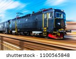 railroad travel and railway... | Shutterstock . vector #1100565848
