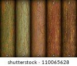 realistic wood texture | Shutterstock .eps vector #110065628