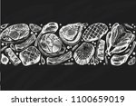 vector band for you design with ... | Shutterstock .eps vector #1100659019