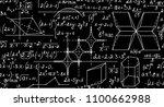 mathematical vector seamless... | Shutterstock .eps vector #1100662988