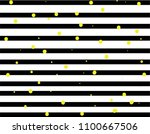 black and white stripes and... | Shutterstock .eps vector #1100667506