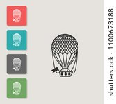 balloon   vector icon. symbol...