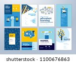 brochure cover design and flyer ... | Shutterstock .eps vector #1100676863
