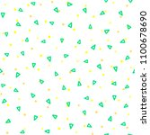 geometric seamless pattern... | Shutterstock .eps vector #1100678690