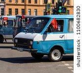 saint petersburg  russia   may... | Shutterstock . vector #1100682830