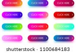 set of bright colorful click... | Shutterstock .eps vector #1100684183