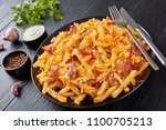 French Fries With Melted Mix O...