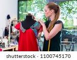 Fashion Designer Draping Dress...