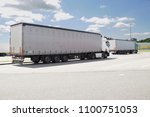 truck stop  a place to rest a... | Shutterstock . vector #1100751053