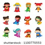 cartoon vector illustration of... | Shutterstock .eps vector #1100770553