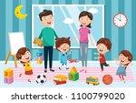 vector illustration of... | Shutterstock .eps vector #1100799020