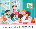 vector illustration of... | Shutterstock .eps vector #1100799029