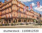london  april  2018  mayfair's...   Shutterstock . vector #1100812520