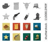 star sheriff  colt  dynamite ...   Shutterstock .eps vector #1100813909