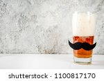 father's day holiday concept ... | Shutterstock . vector #1100817170