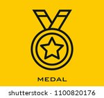 medal vector icon