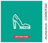 high heels vector icon...
