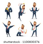 collection of successful... | Shutterstock .eps vector #1100830376
