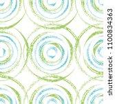 dry brush textured circles... | Shutterstock .eps vector #1100834363