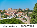 view of rooftops and grand... | Shutterstock . vector #1100837189
