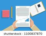 businessman flat design read... | Shutterstock .eps vector #1100837870