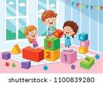 vector illustration of... | Shutterstock .eps vector #1100839280