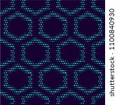 seamless pattern. monochrome.... | Shutterstock .eps vector #1100840930