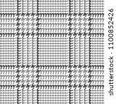 glen plaid vector pattern in... | Shutterstock .eps vector #1100852426